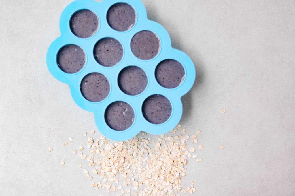 blueberry oatmeal puree for baby