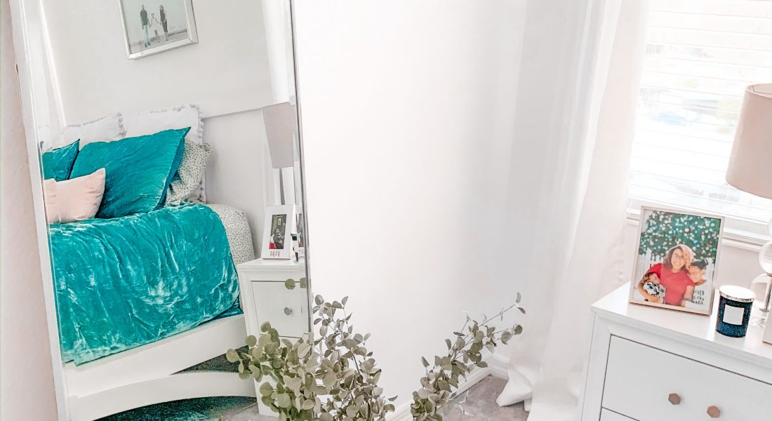 Our Teal Bedroom Reveal