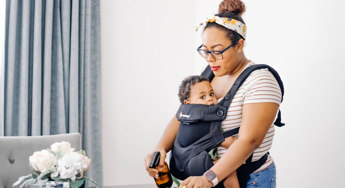 The Secret to Being Productive with a Baby at Home