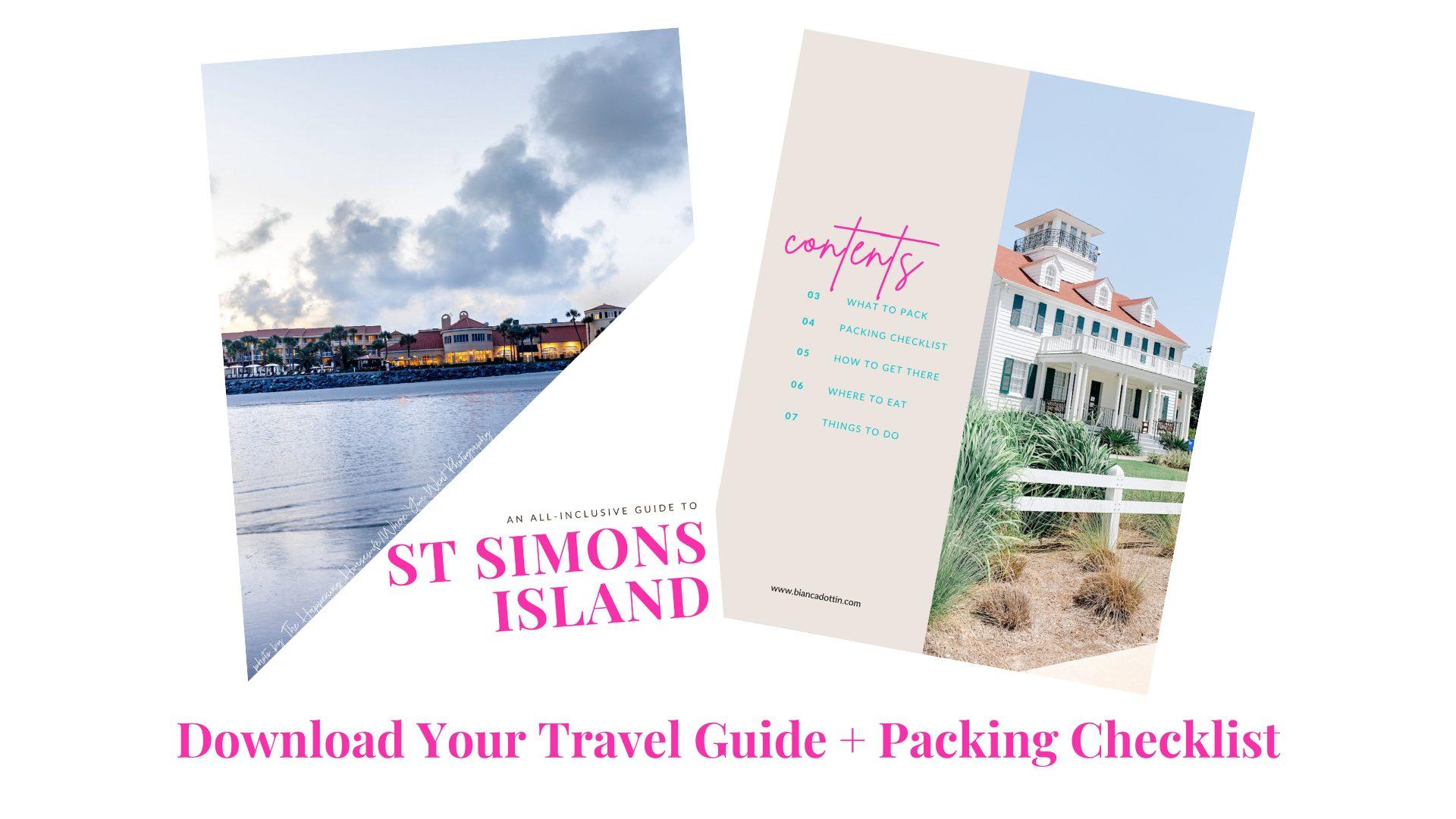 St Simons Island Travel Guide