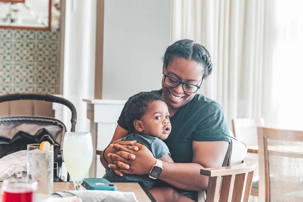 black mom blogger