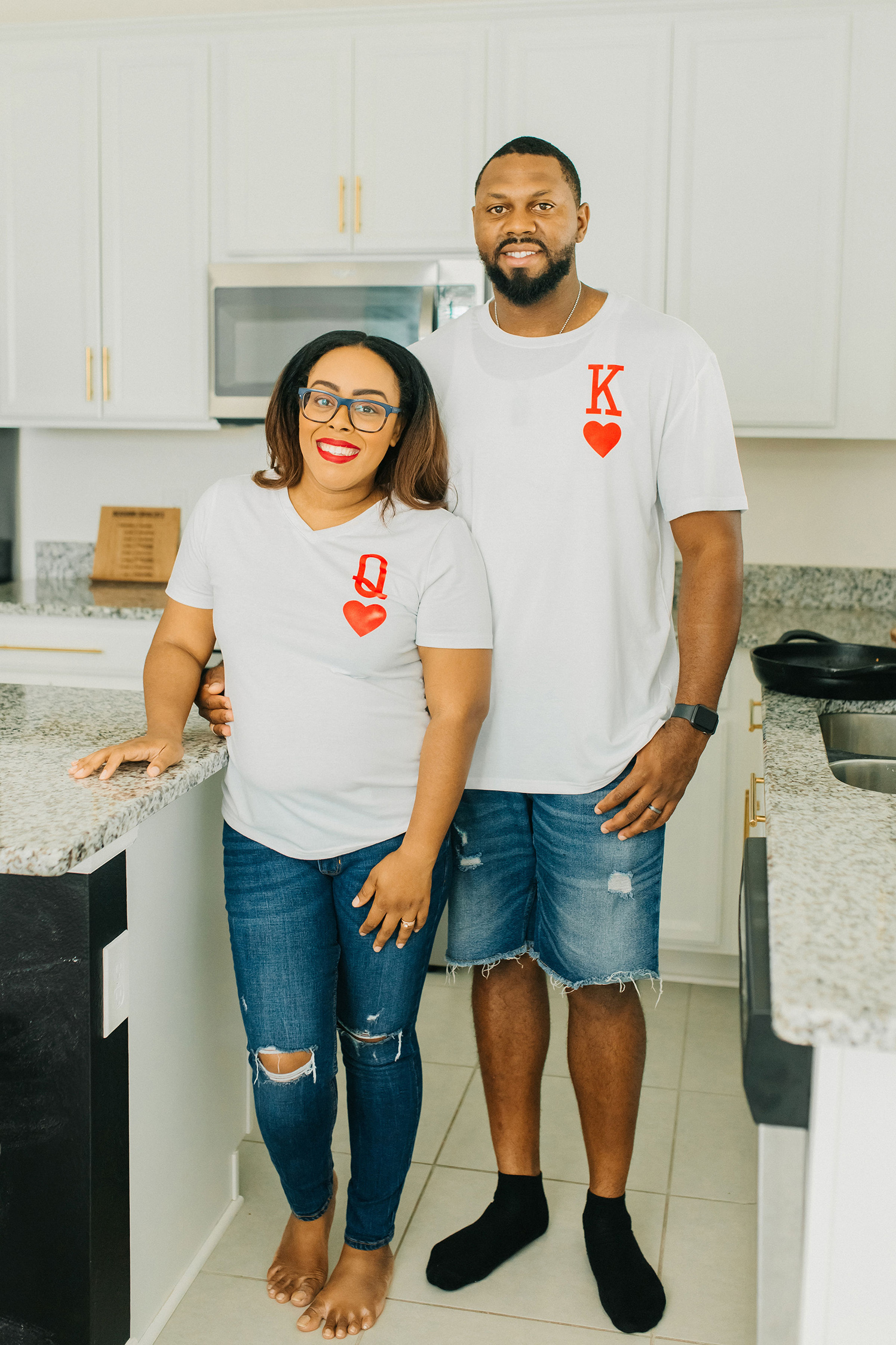 diy king and queen shirts