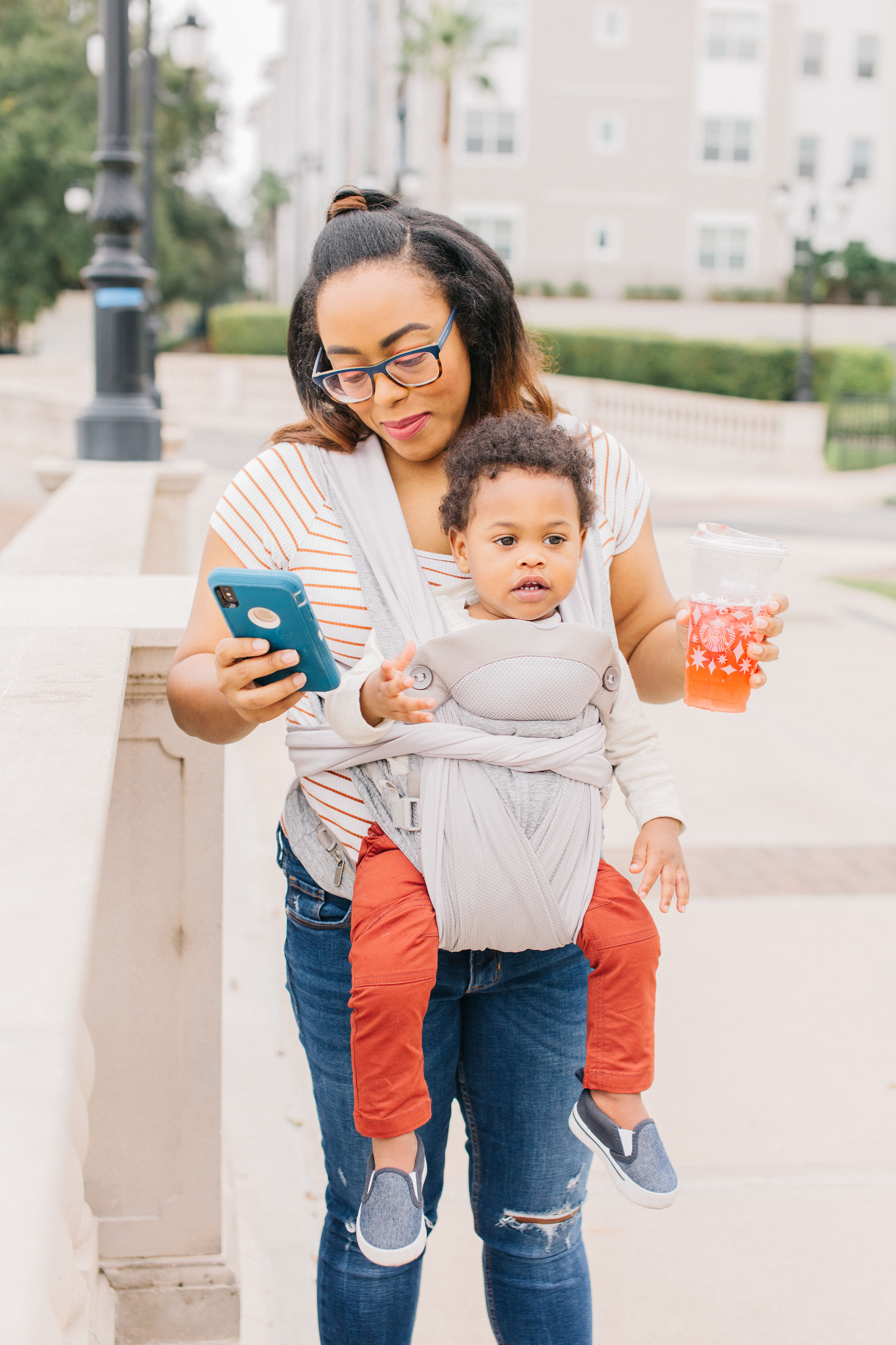Boppy Comfy Chic Carrier