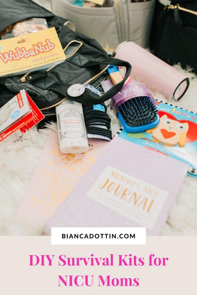 NICU Mom Survival Kits