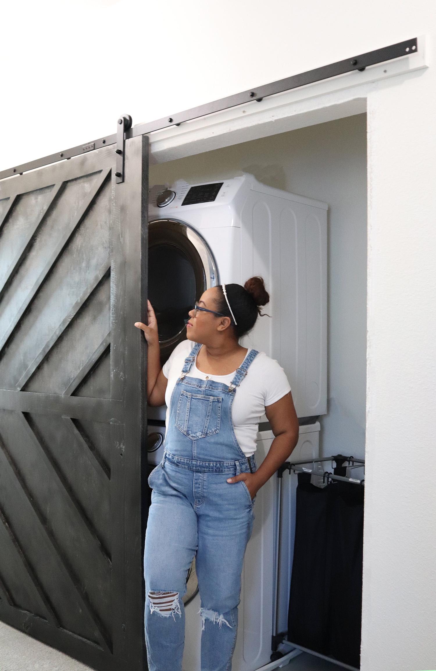 diy double barn door