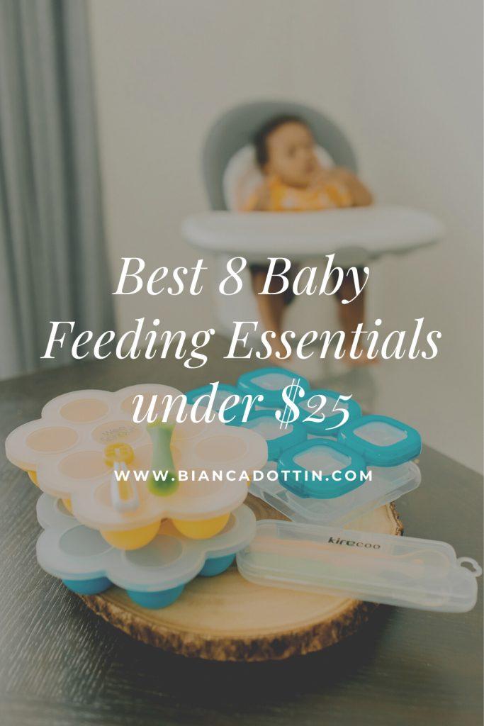 Best 8 Baby Feeding Essentials under $25