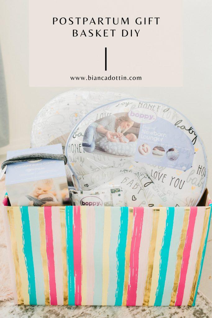 new mom gift basket idea