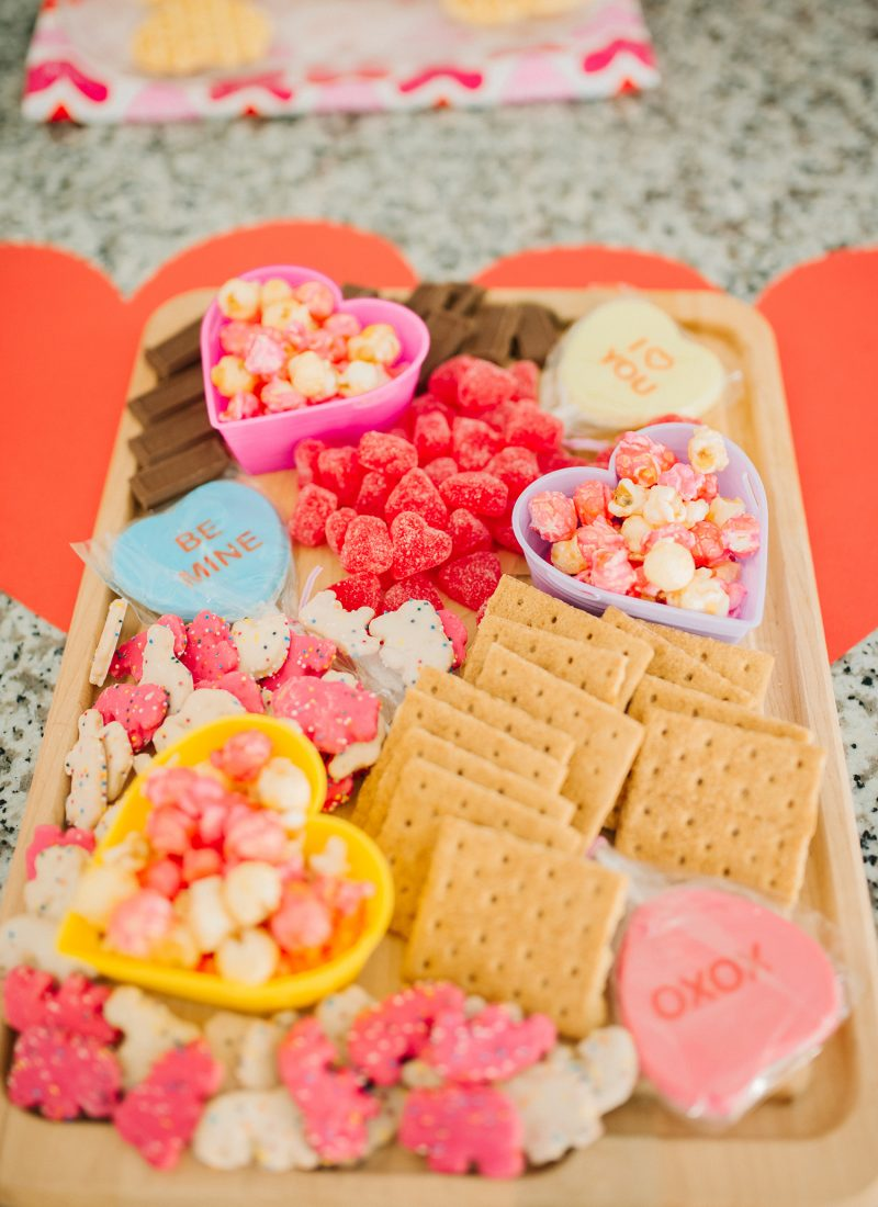 Easy Candy Board for Valentine's Day