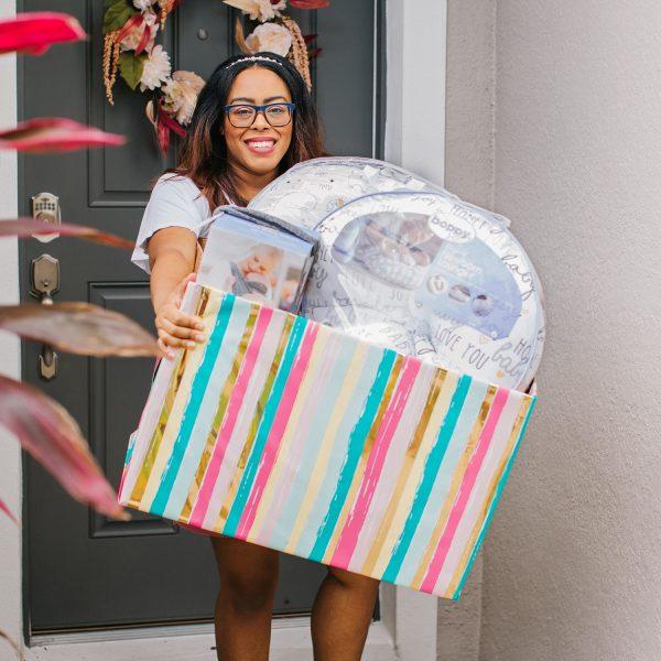 Postpartum New Mom Gift Basket DIY