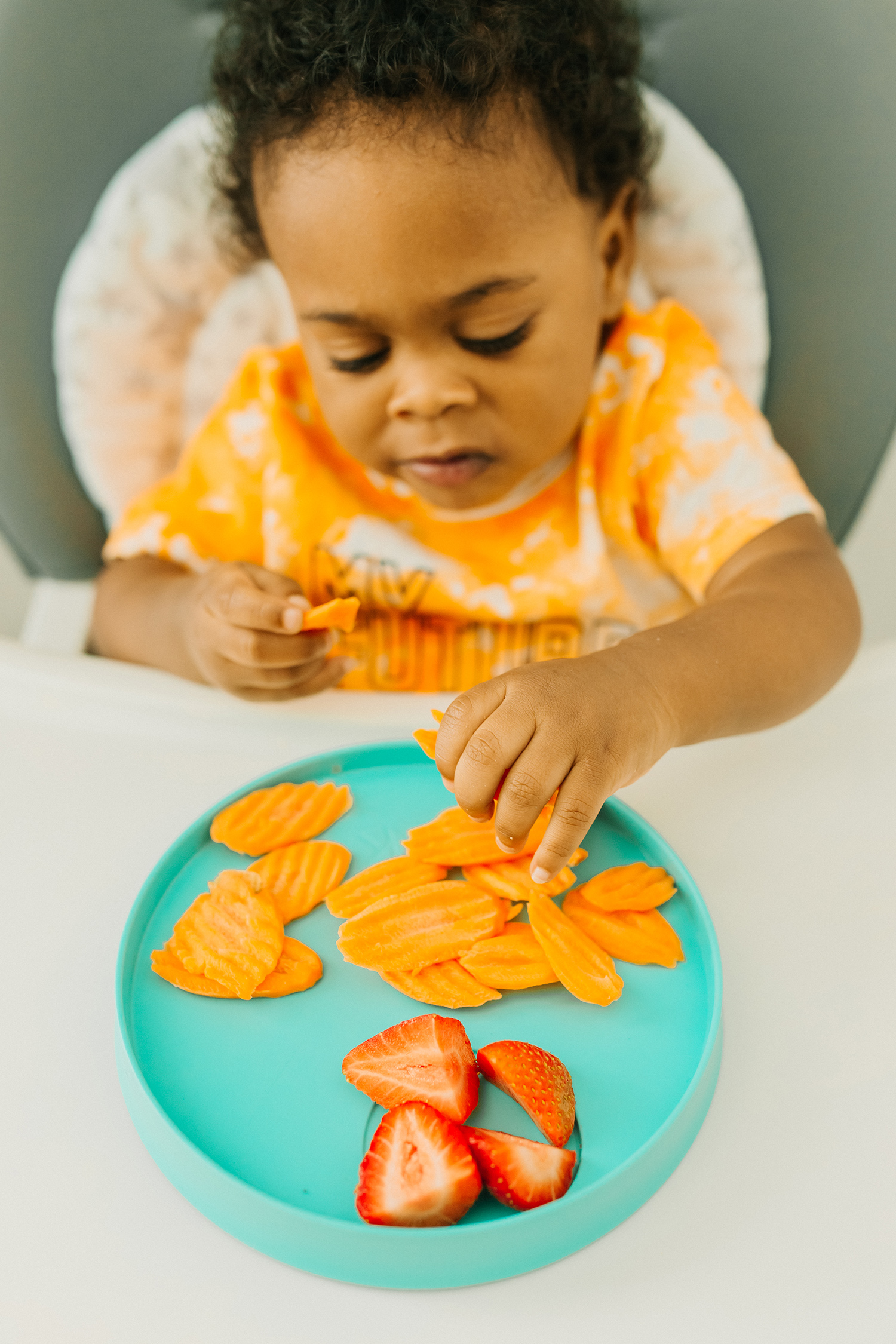 divided toddler plate