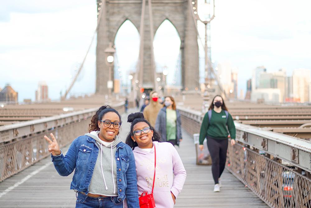 brooklyn bridge family trip
