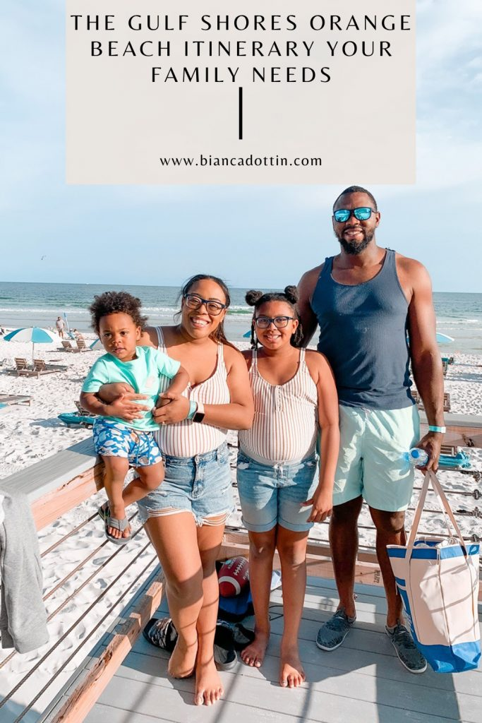 gulf shores orange beach itinerary