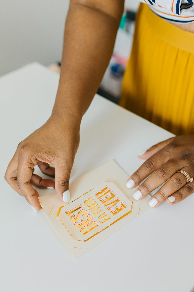 Simple Cricut Project for Beginners