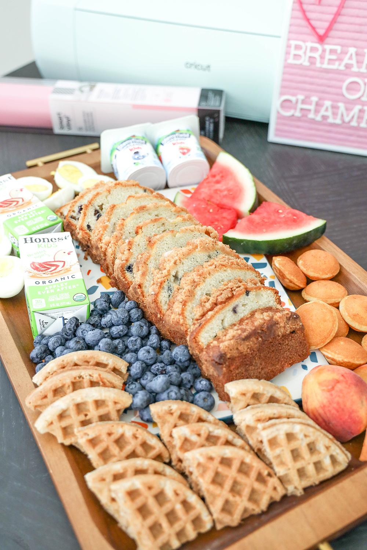 breakfast grazing board