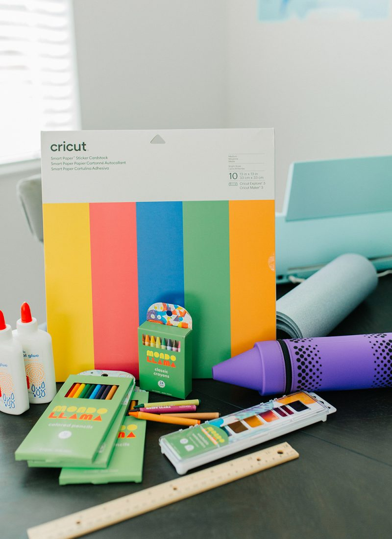 Make These Personalized School Supplies With Your Cricut