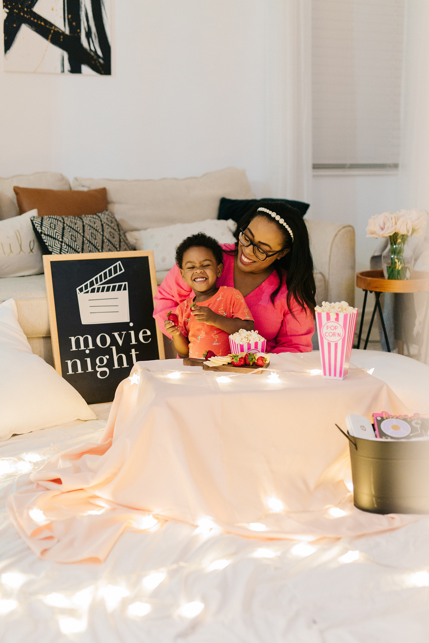 How to Plan a Movie Date Night at Home