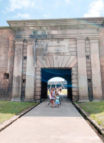 fort morgan historical site